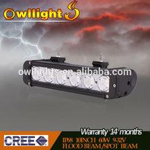 HOT! SXS LED Light Bars for Offroad Trailer Truck Car 4x4 Waterproof 6000k 9-32v SXS LED Light Bars 60w