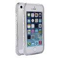 Protector metálico contra golpes con brillo de diamantes para iPhone 5 5S, cubierta para carcasa