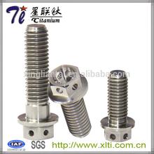 Titanium Hex Head M10 x (1.25mm) x 60mm Race Spec Drilled