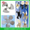 plastic motor fan parts