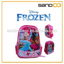FROZEN TOY Girls child cheap scool backpack wholesale kid school bags