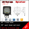 Crazy selling off road atv suv 4WD vehicle accessories 12v dc e 27w led lamps