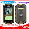 "2014 Hummer H5 3G Smartphone 4.0"" Capacitive Screen IP67 Waterproof Shockproof Dustproof 512M RAM 4G ROM GPS Polish Hummer H5"