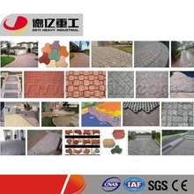 DEYI High Output Concret Paver Brick Making Machine with Annual Output of 20-120 Million pieces