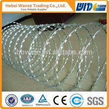 Concertina Razor Wire/Concertina Wire/stainless steel concertina razor barbed wire installations Verified by TUV Rheinland