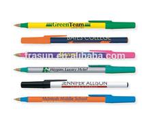 Smooth writing multicolor custom logo original bic ball pen