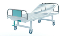 Hot sales one crank Cheap manual donation hospital bed CY-A101C