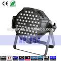 indoor dmx512 led rgb par 54x3w led digitale luce par