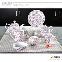 china ware manufacturer wholesale the ceramic tea set ,beautiful porcelain tea set,homeware set made in china