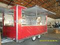 Móvil de hielo crema carrito remolque camper ys-fv400d