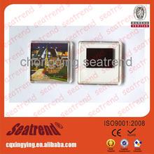 2014 selling sound acrylic fridge magnet photo frame for sale