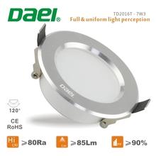 3 inch 7w led downlight