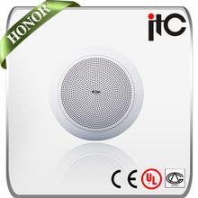 ITC T-106W 0.75W to 6W 6 inch Waterproof Bathroom Ceiling Speaker for Home Audio
