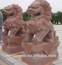 stone carving -auspicious lion