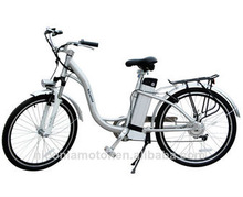 26inch e- bike 36v 250w with brushless motor and lithium ion battery