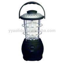 12 led portable camping light hand crank camping lantern