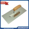 Stainless Steel Plastering Trowels with Wooden Handle/Construction tools