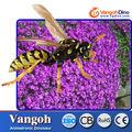 de fibra de vidrio de los animales de la abeja modelo para la venta