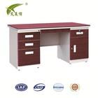 steel standard office table/executive eco desk/ steel office desk dimensions