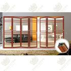 Wholesale branded high quality aluminum folding door on sale