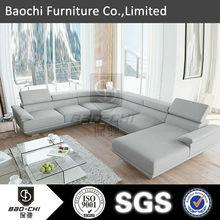 Baochi furniture Germany design hot sales leather sofa,functional sofa set C1128