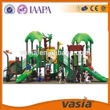 Korea imported LLDPE outdoor children playground best sale forest design