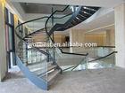 indoor Luxury steel wood stair
