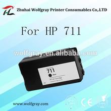 Refill ink cartridge 711 for HP Designjet T120 T520 ePrinter series