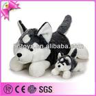 Factory Price Custom Siberian Husky Plush Dog Toy