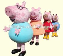 Cerdo peppa traje de la mascota/traje de cosplay para la venta