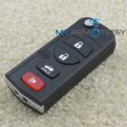 Flip remote key 4button 315Mhz for Nissan car key remote head key