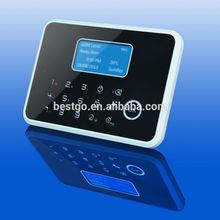 Intercom GSM Security Alarm,Temperature Display Alarm Security System, Wireless Security Alarm System