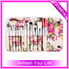 12pcs cheap new custom logo beauty cosmetics need makeup brush set