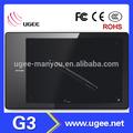 ugee g3 9 pulgadas sistema windows tablet pc de ventas al por mayor de alibaba tableta gráfica de china de fábrica