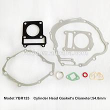 YBR125 for motorcycle full gaskets kit