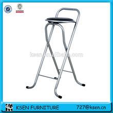 Metal folding bar chair, bar stool KC-7511