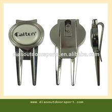 golf ball marker hat clip divot tool