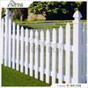 2014 hot sale Fentech White PVC Picket Fence Plastic Garden Fence Retractable Fencing with 4 Inch PVC Fence Post