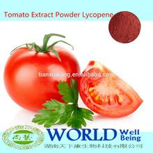 Factory 100% Natural Lycopene 2%-98% Tomato Extract Powder,Tomato Powder Lycopene Tomato Extract