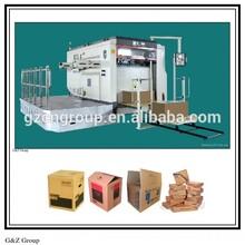 Platen Die Cutter Machine for Carton Box