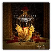 Acrylic Cage Vase For Wedding Decoration