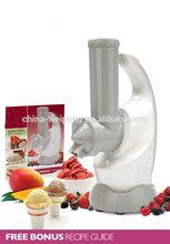 fruit ice cream maker/ snack maker machine.yoghurt maker at home as seen on TV