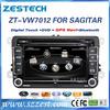 ZESTECH car sat nav for vw sharan car dvd gps 2 din autoradio satellite gps original car audio dvd