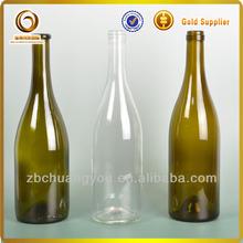 wholesale 750ml bulk wine bottles / empty glass bottle / liquor glass bottle 750ml wholesale