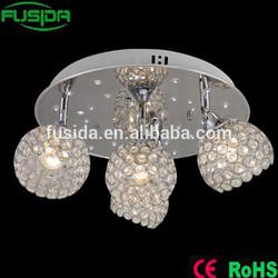 crystal light crystal beaded lamp shades D-9460-4