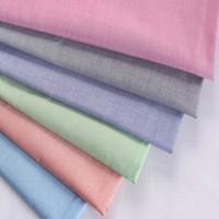 100 cotton yarn dyed chambray fabric