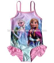 wholesale swimsuit dress 2014 frozen swimwear