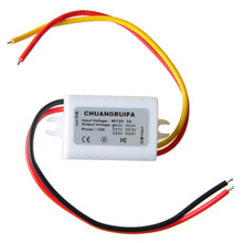 2015 Hot Selling Waterproof DC Power Converter 12V to 3.0V 3A 15W Power Supply Module