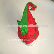 navidad sombrero del partido sombrero de payaso de color rojo y verde