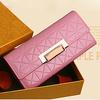 2014 popular women wallets china supplier shiny wallets W6005